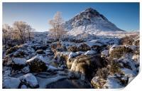 Buachaille in winter, Print