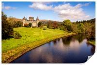 Inveraray Castle, Print