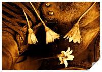 Boot Flowers, Print