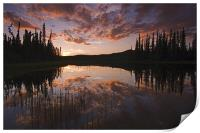 Yukon nights , Print