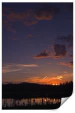 Yukon Nights II , Print