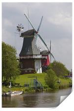 Windmills, Print