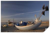 Sandy harbor, Print
