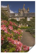 Cawdor gardens, Print