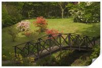 Armadale gardens, Print