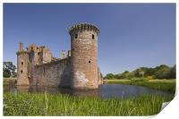 Caerlaverock Castle, Print