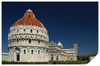 Pisa Cathedral, Print