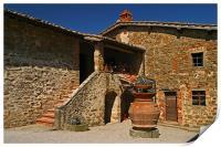 Toscana Winery, Print