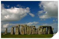 Stonehenge, Print