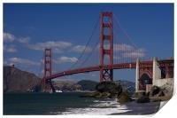 Golden gate Bridge , Print