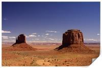 Monument Valley, Print