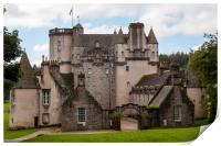 Castle Fraser, Print
