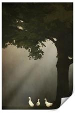 A MEETING UNDER THE TREE, Print