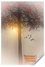 MORNING IN THE PARK, Print