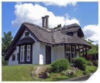 Sulham Cottage, Print
