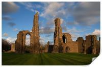 Neath Abbey, Print