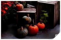 Autumn Squash, Print