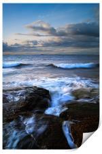 Gullane Bents Rocks, Print