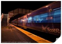 Night Train to Edinburgh, Print