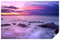 Guille Purple Sunset, Print