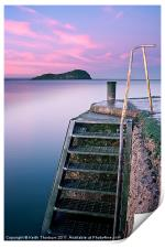 The Harbour Steps, Print