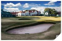 18th Green Muirfield Golf Club, Print