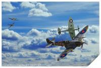 Battle in the Skies, Print