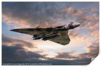 Vulcan Bomber, Print