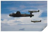 The Battle of Britain Memorial Flight, Print