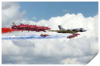 Reds Arrows with XH558, Print