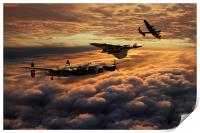 The Bomber Age , Print