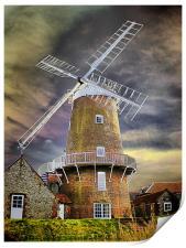 Cley Windmill, Print