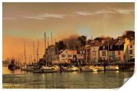 Weymouth Harbour, Print