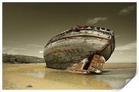 Dulas Bay shipwreck, Print