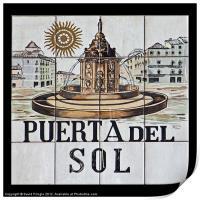 Puerta del Sol, Print