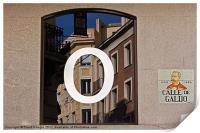 Madrid Reflections, Print