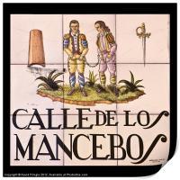 Calle de los Mancebos, Print