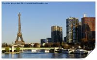 The Seine Paris, Print