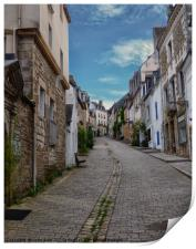The Path to Auray Brittany, Print