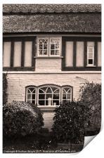 3 windows, Print