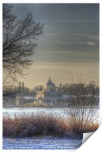 Ice palace, Print