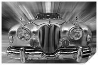 Old Jaguar S, Print
