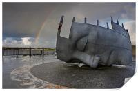Cardiff war memorial, Print