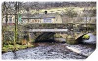 Hebden Bridge in Autumn, Print