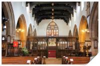 Skipton Parish Church, Print
