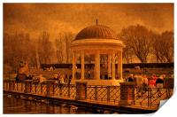 A Stroll around the Bandstand, Print