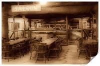 The Saloon Bar., Print