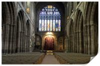 Chester Cathedral, Print