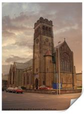 Holy Trinity Church, Print