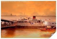 Mersey Ferry, Print